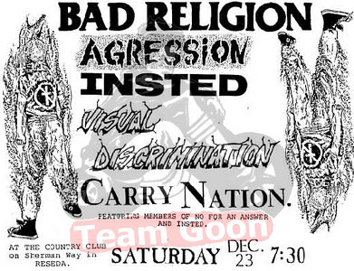 Bad Religion - Agression - INSTED