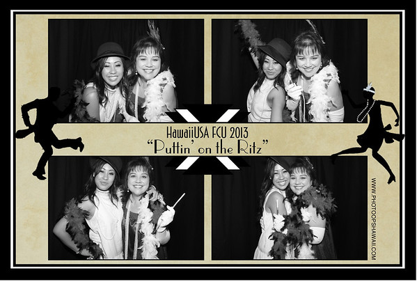 HawaiiUSA FCU Holiday Party 2013 (Stand Up Booth)
