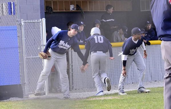 Oswego East baseball season 2015