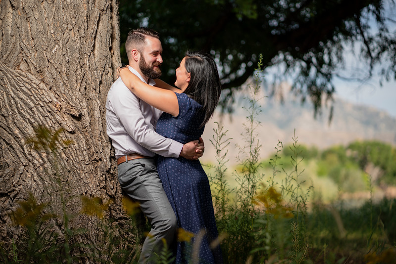Gloria and AJ, epic albuquerque wedding engagement, rio rancho Bosque, G&A 3 (1 of 1).jpg