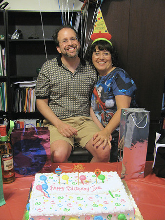 IRA'S SURPRISE BIRTHDAY PARTY, JULY 2013