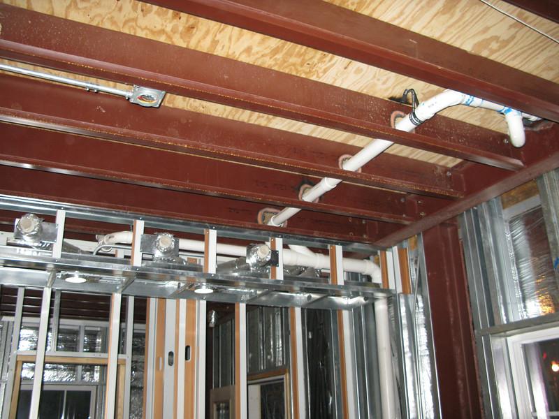 Ceiling in Master bedroom.