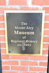 Mount Airy Museum of Regional History, November 21, 2018