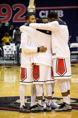 RMU Men's Basketball Senior Night