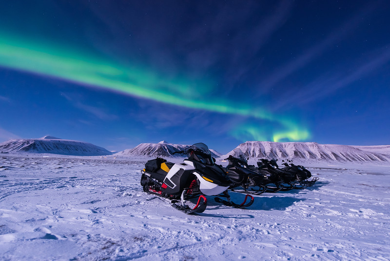 Snowmobile Safari in Norway