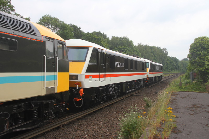90001 Micheldever 11/06/20 0Z37 Eastleigh to Crewe Holding Sidings