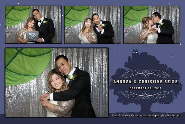 Andrew and Christine Wedding
