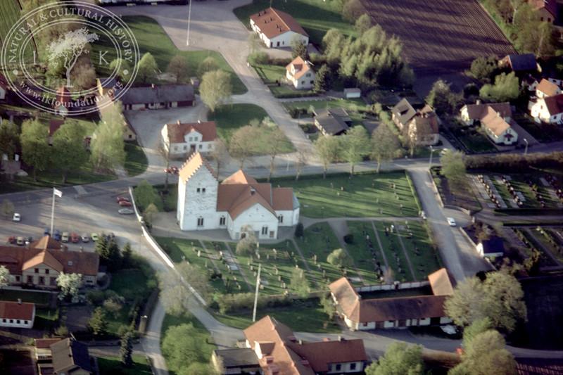 Vittskövle church (4 May, 1989). | LH.0711