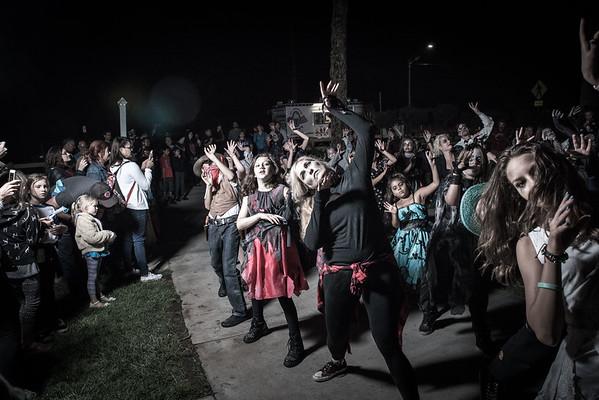 171013 Starlight Bowl Thriller Flash Mob