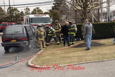 2019.03.24 Mastic Vehicle Fire Roma Funeral Home