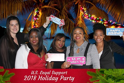 US Legal Support Holiday Party- Morton's