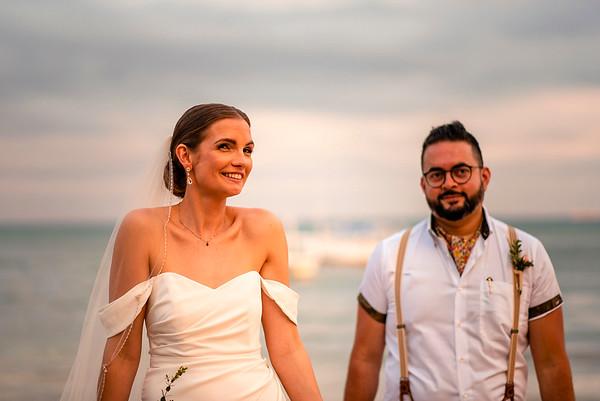 Oli and Rax´s Destination Wedding at Villa La Joya, Riviera Maya