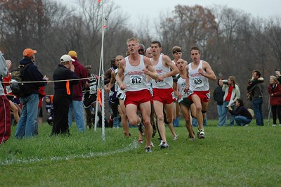 NCAA Division II Cross Country Championships November 2004 at University of Southern Indiana CC Course