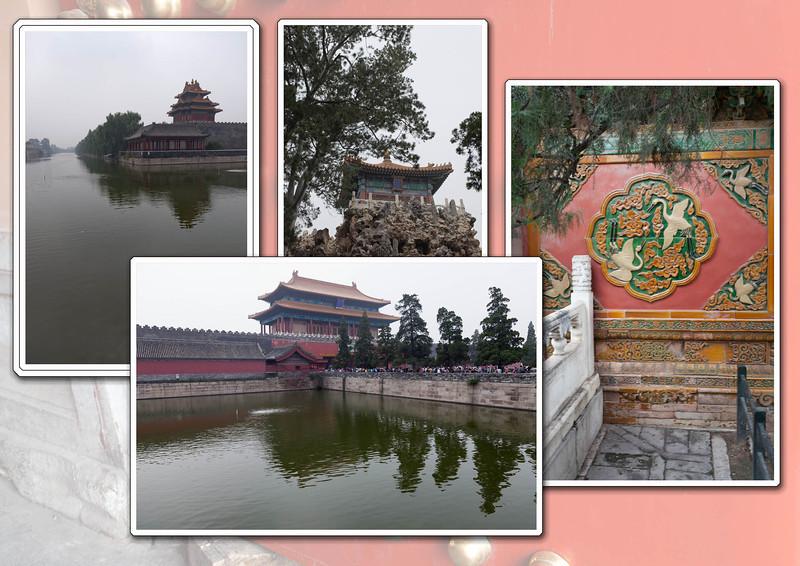 Paviljoentjes, enige contact van de concubines met de buitenwereld.