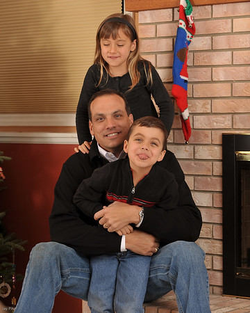 December 1, 2009 - Holiday Portraits
