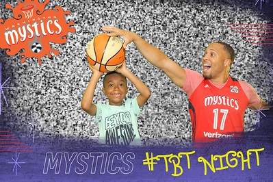 Washington Mystics Throwback Thursday Night: 6/29/2017