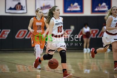 2017.12.05 Girls Basketball: Briar Woods @ Heritage