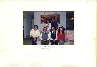 10-23 to 11-18-1989 Dad @ Kam's & Gerald Tanaka