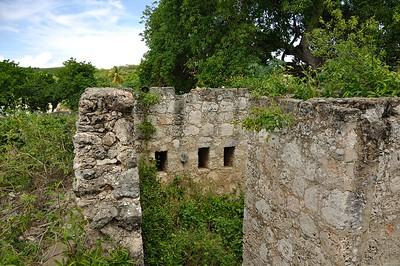Fort at Boka Sami