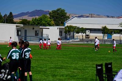 Mustang Soccer 2010 Team Revolution Game 4