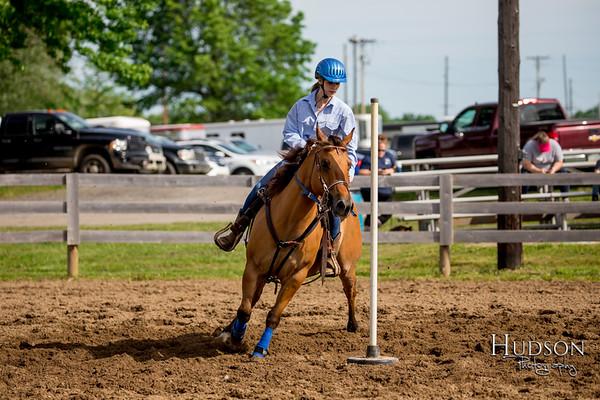 03. Pole Bending Pony, Sr. Rider
