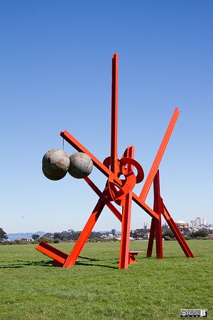 Mark di Suvero at Crissy Field (San Francisco)