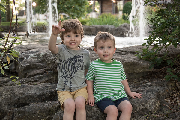 Branson with Cooper and Jax  (June5-6)