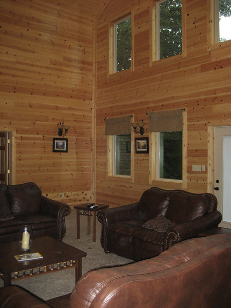 Inside Lodge main floor.