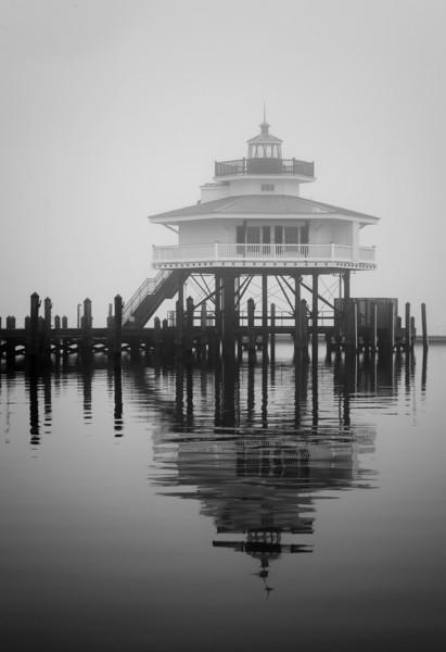Choptank Lighthouse Monochrome.jpg