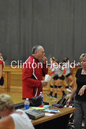 North Scott at Clinton volleyball (9-3-13)