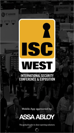 ISC WEST security conference exhibits