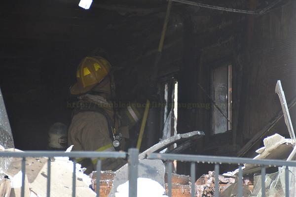 Dearborn (MI) Coleman Street - House Fire