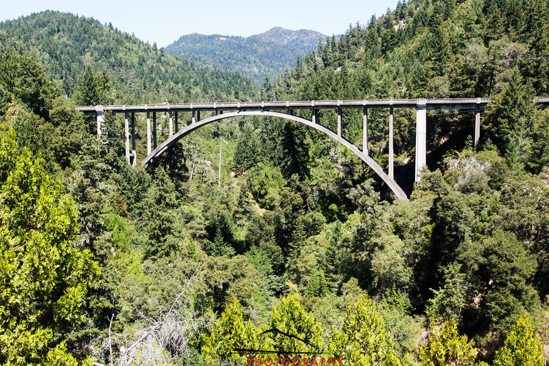 Cedar Creek Bridge, Legget, CA