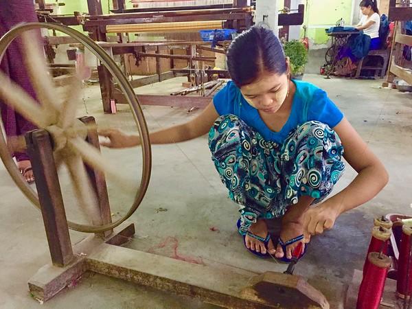 Artisans: Silk Weaving, Buddha Carving, Wood Crarving, Puppets
