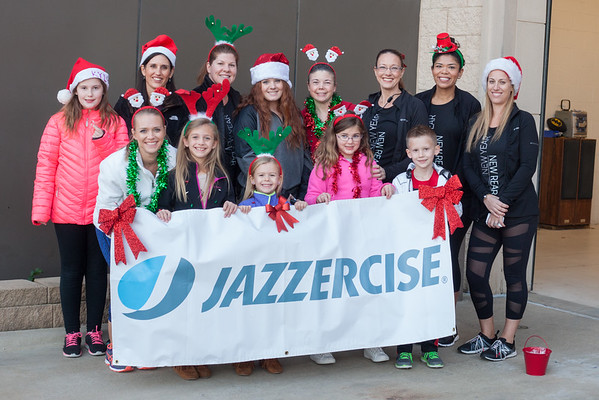 Jazzercise Murphy - Tree Lighting & Parade 2016