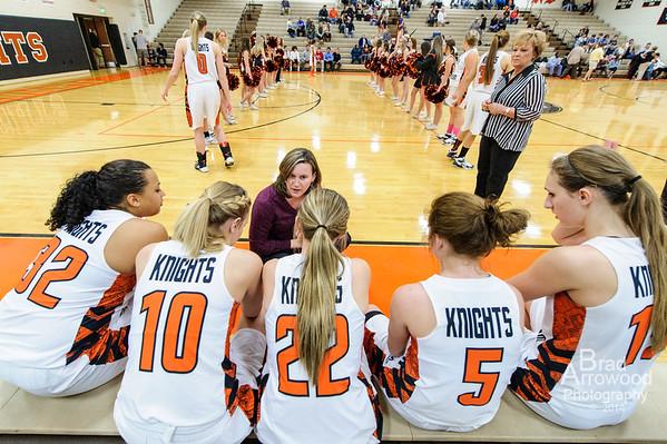 NDHS Lady Knight Basketball vs Mt Tabor 2014 3