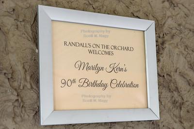 09/14/19 Marilyn Kern's 90th Birthday