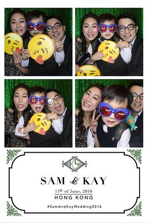 Kay & Sam Wedding 11 Jun 2016