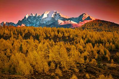 China,  Shangri-La, Daocheng (Dapda), E-Chu Mountain,  稻城,  亚丁,俄初山