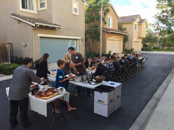 Pre-Deployment Thanksgiving Event