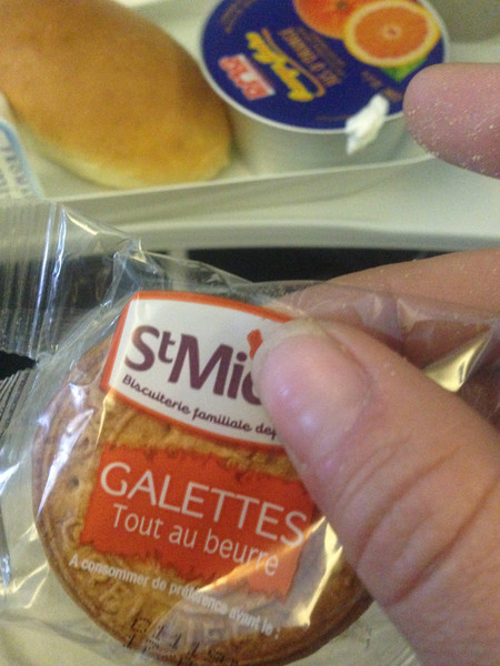 Breakfast on Airfrance
