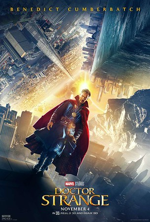 Hello, stranger… new images/posters for DOCTOR STRANGE