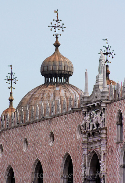 Detail of St. Mark's and Doges Palace