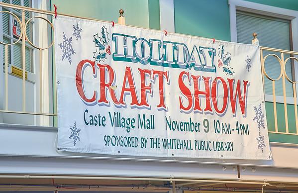 2019 Holiday Craft Show in Caste Village