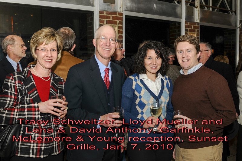 Garfinkle, McLemore & Young reception 2010
