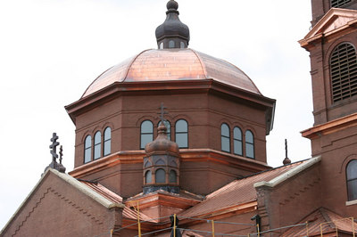 St. Mary's Orthodox Cathedral Renovation September 2006