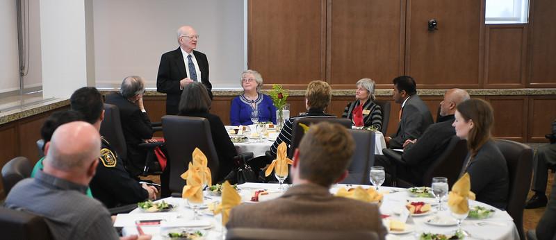 Ambassador Neumann Visits Campus