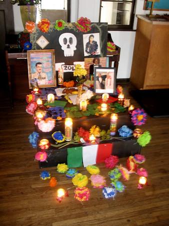 Dia de los muertos Altars