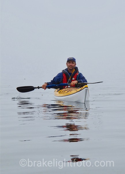 Kayaking in the Fog