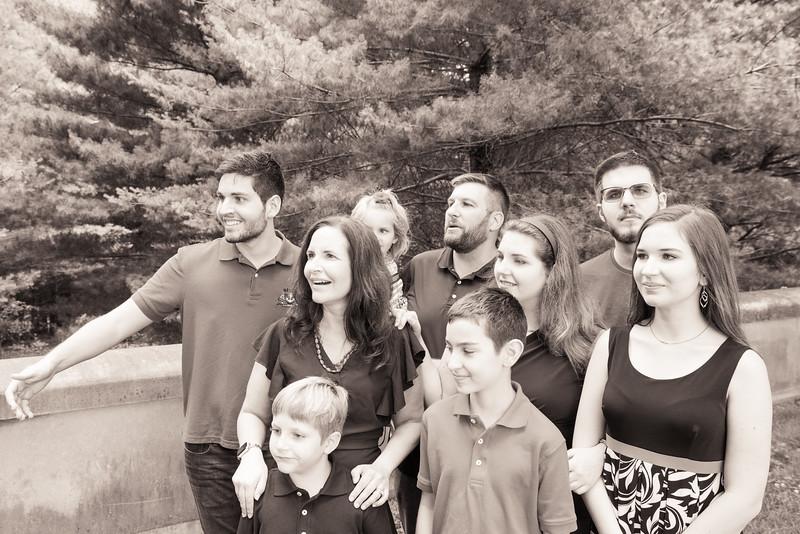 The Haley Gang (b&w)